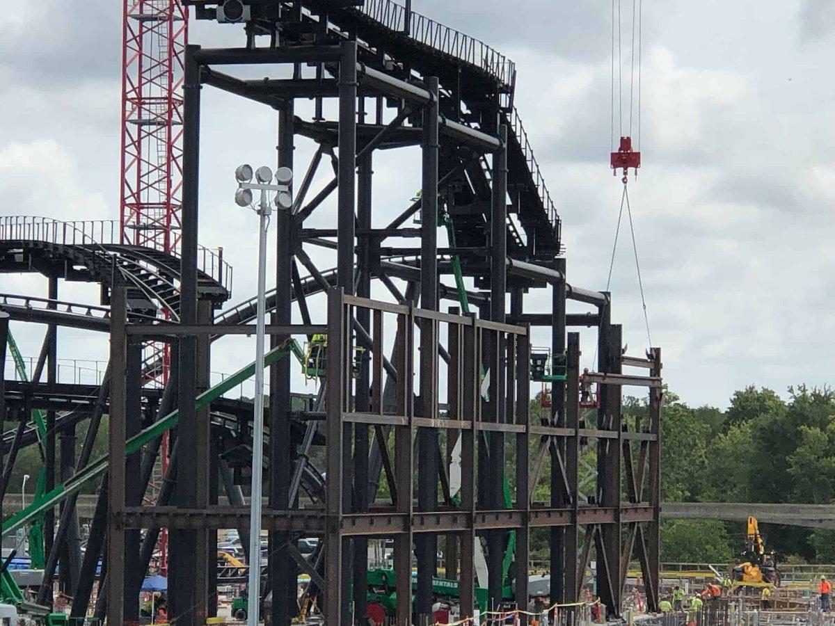Tron Construction in progress
